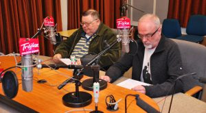 Jan Chojnacki i Wojciech Mann. Fot. Polskie Radio - Trójka