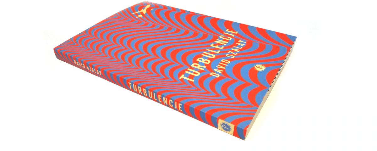 David Szalay - Turbulencje okładka książki