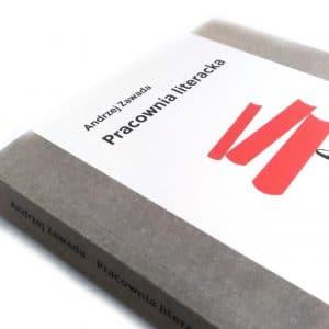 Pracownia literacka - Andrzej Zawada - fragment okładki książki