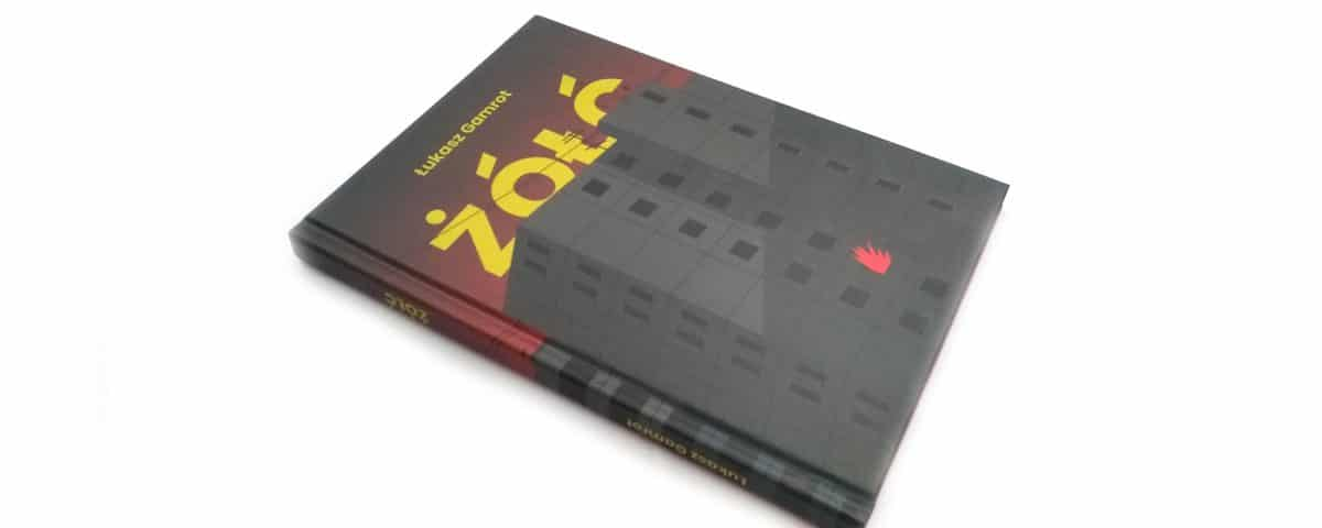 Żółć - Łukasz Gamrot - okładka książki