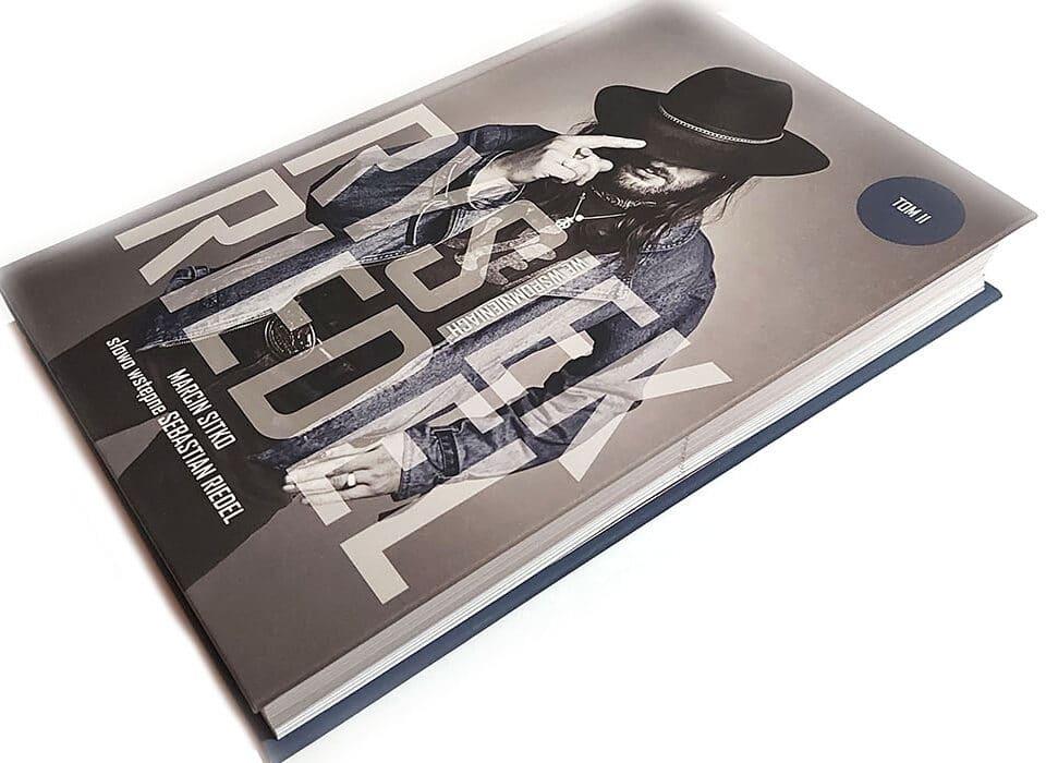 Rysiek Riedel we wspomnieniach - okładka książki